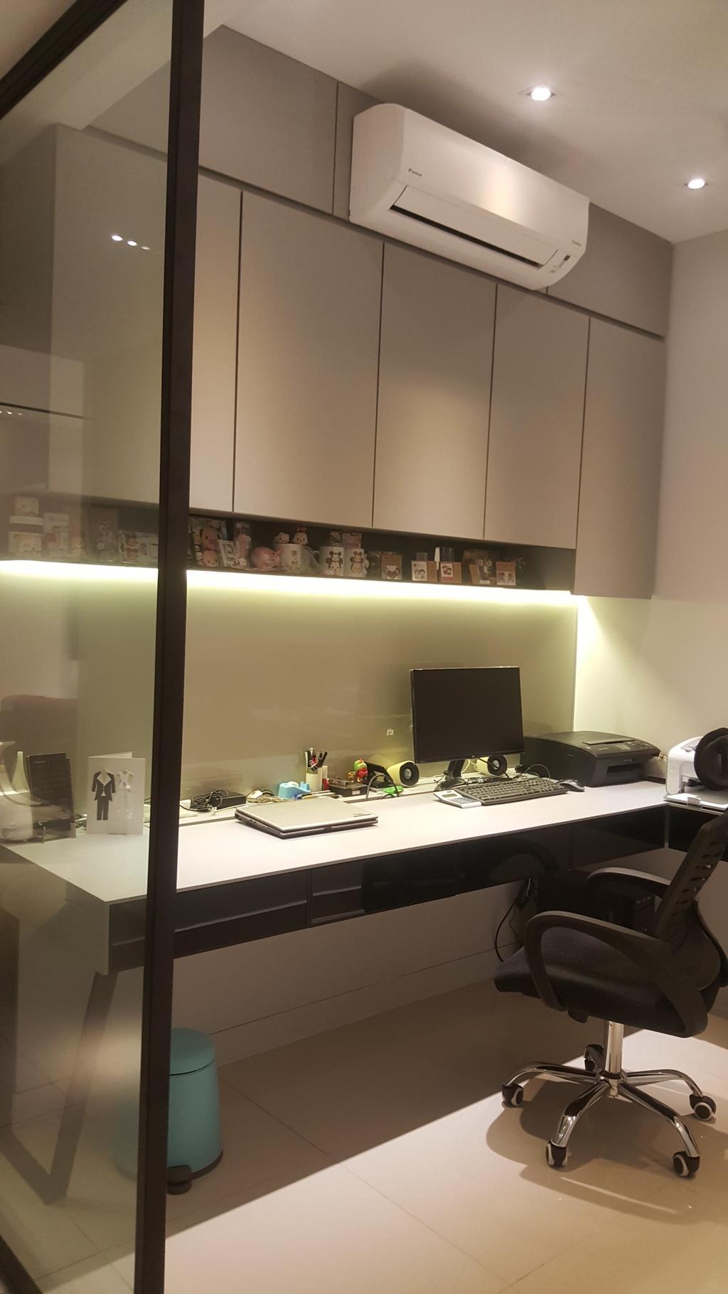 Contemporary, Condo, Selayang 18 Residence, Bandar Baru Selayang, Interior Designer, Qube Design & Creater