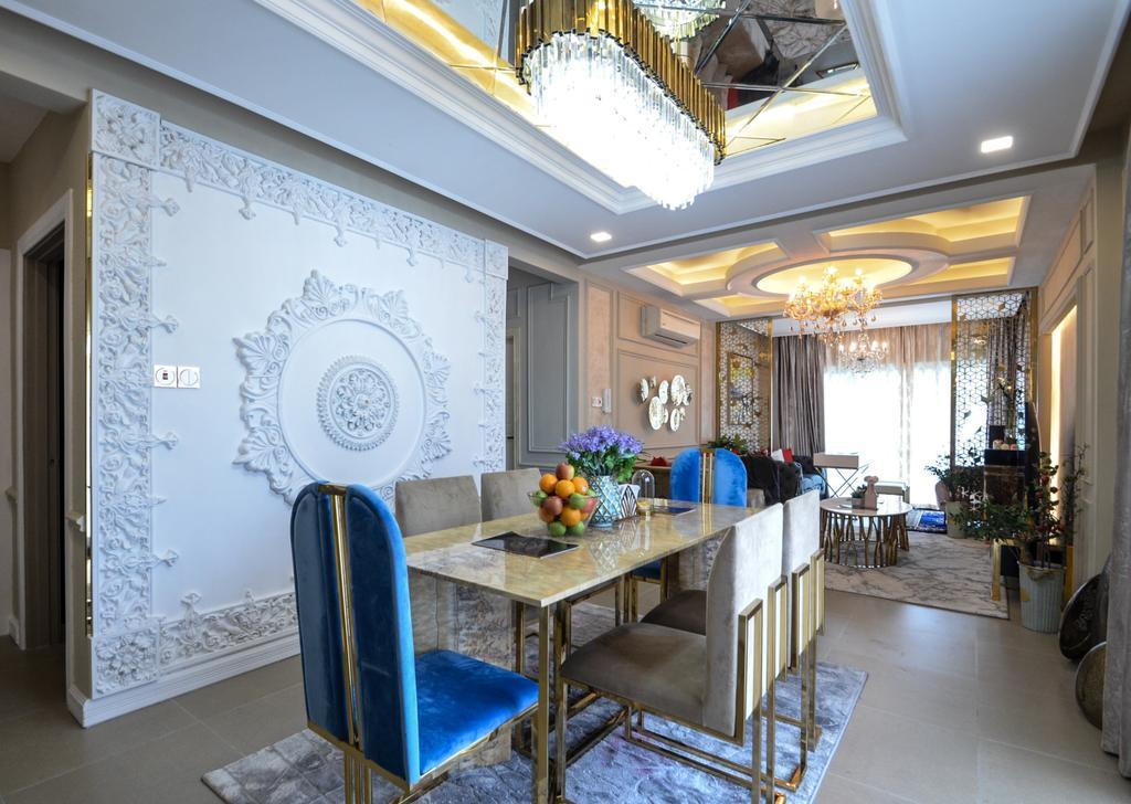 Modern, Condo, Dining Room, Metropolitan Square, Damansara, Interior Designer, JeeHan Lee Design