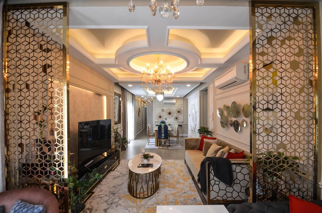Modern, Condo, Living Room, Metropolitan Square, Damansara, Interior Designer, JeeHan Lee Design