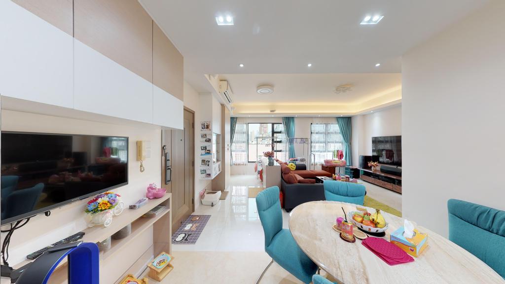 當代, 私家樓, 飯廳, 樂意居, 室內設計師, 和生設計
