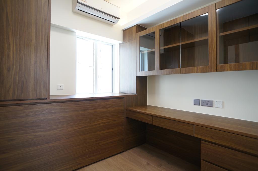 摩登, 私家樓, 書房, 公主台, 室內設計師, 和生設計