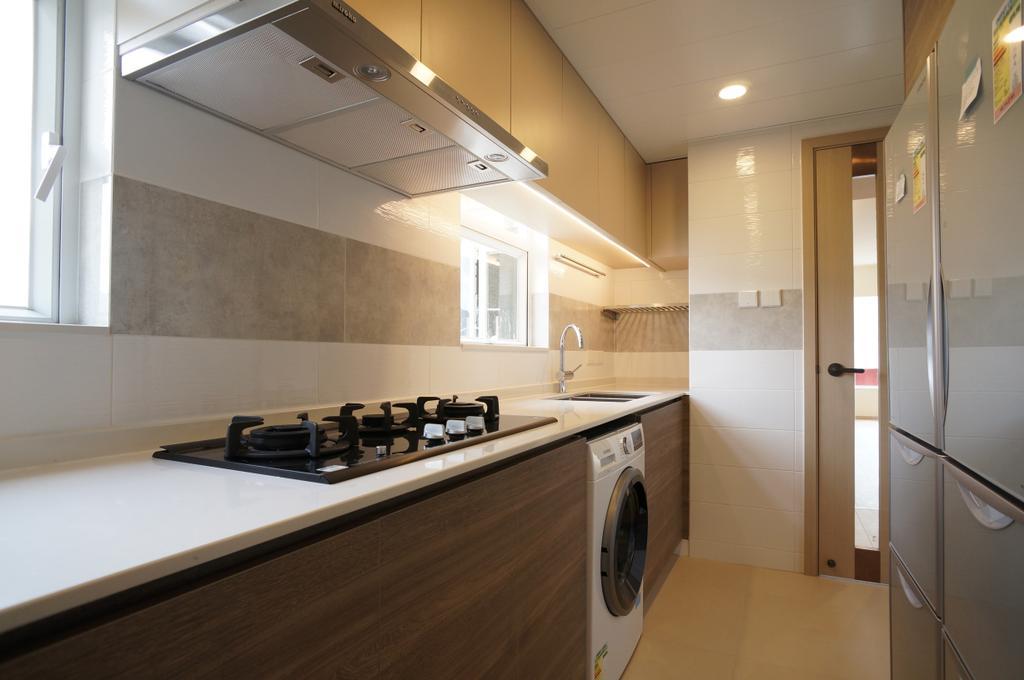 摩登, 私家樓, 廚房, 公主台, 室內設計師, 和生設計
