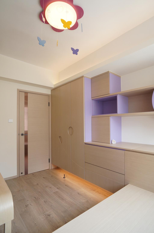 摩登, 私家樓, 睡房, 公主台, 室內設計師, 和生設計