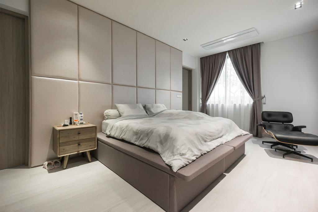 Contemporary, Landed, Bedroom, Hong San Walk, Interior Designer, Flo Design