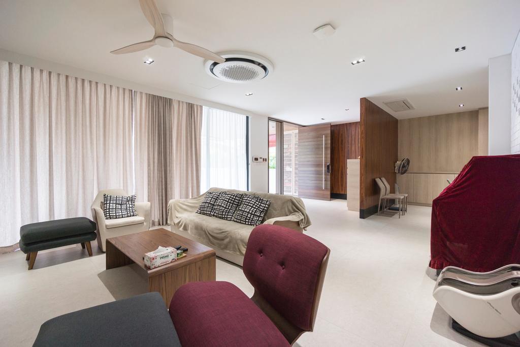 Contemporary, Landed, Living Room, Hong San Walk, Interior Designer, Flo Design