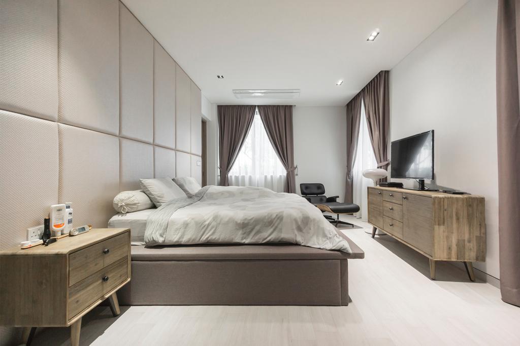 Contemporary, Landed, Bedroom, Hong San Walk, Interior Designer, Flo Design
