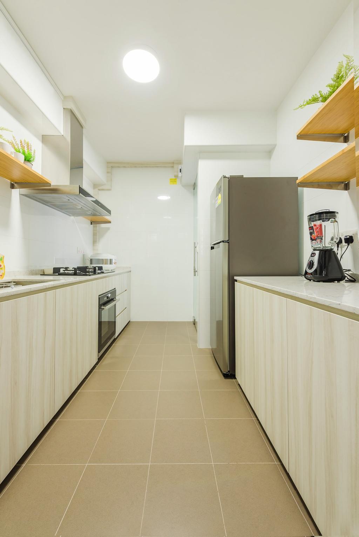 Scandinavian, HDB, Kitchen, Jalan Tenteram, Interior Designer, Tan Studio, Modern