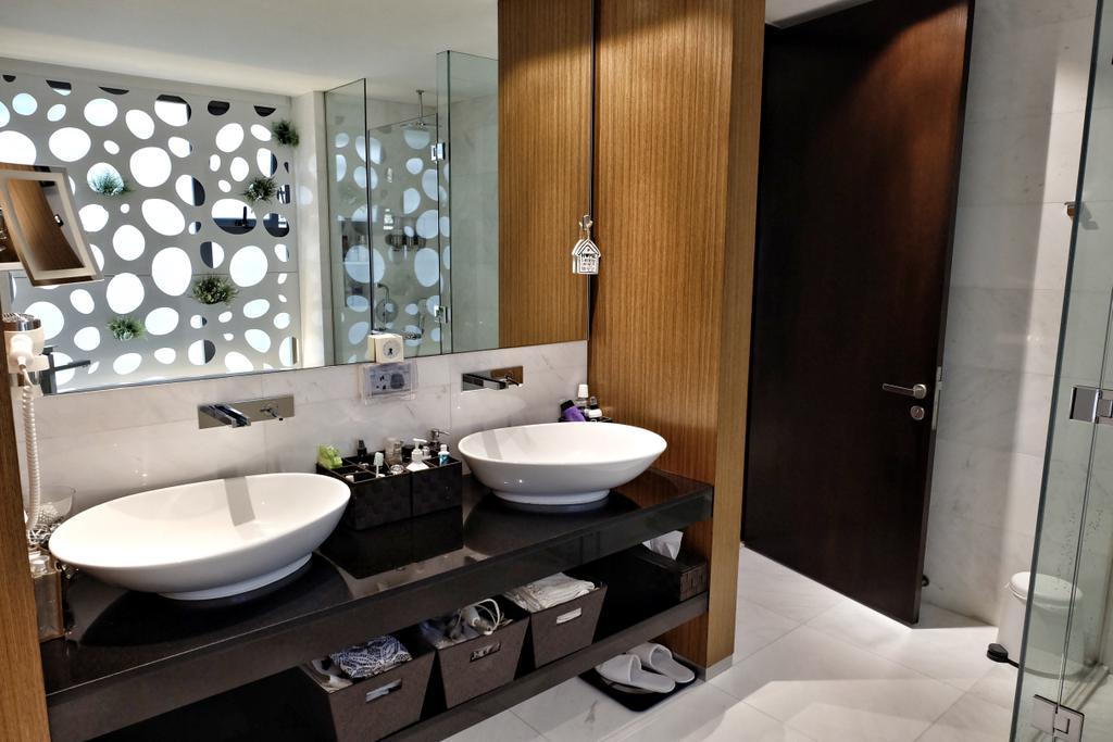Modern, Condo, Bathroom, YGK Garden, Interior Designer, New Chapter Design.com