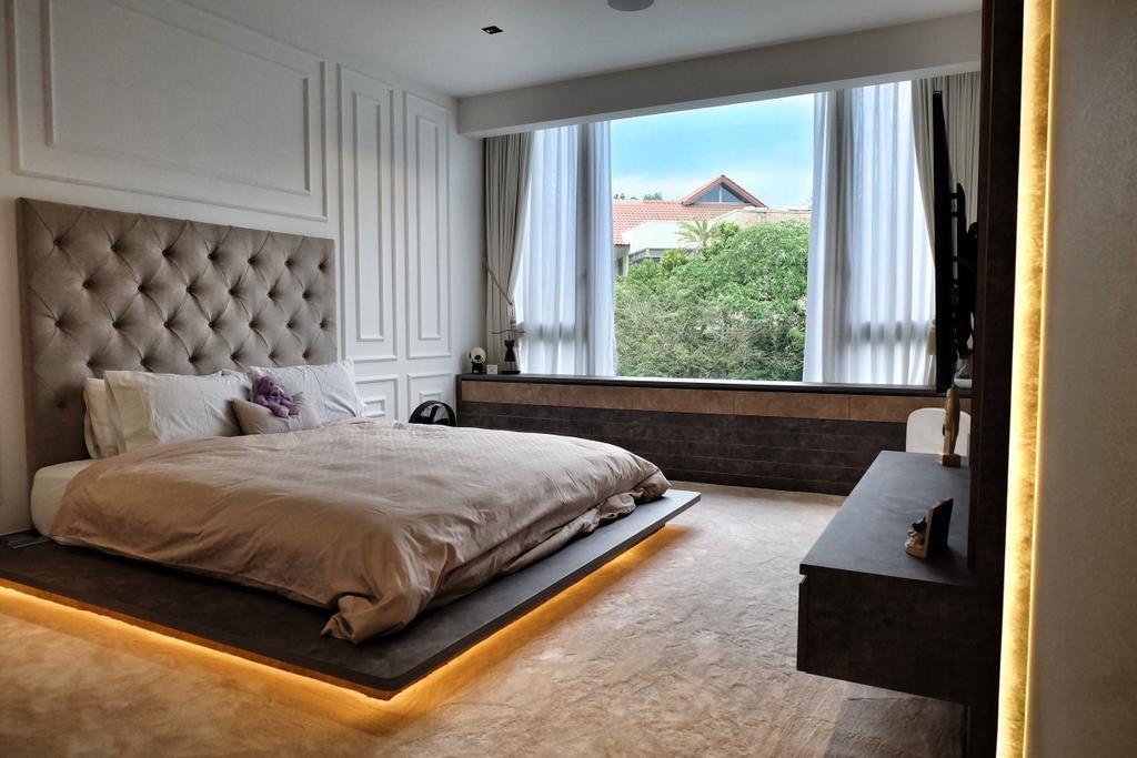 Modern, Condo, Bedroom, YGK Garden, Interior Designer, New Chapter Design.com, Window Seat, Bay Window, Window Ledge