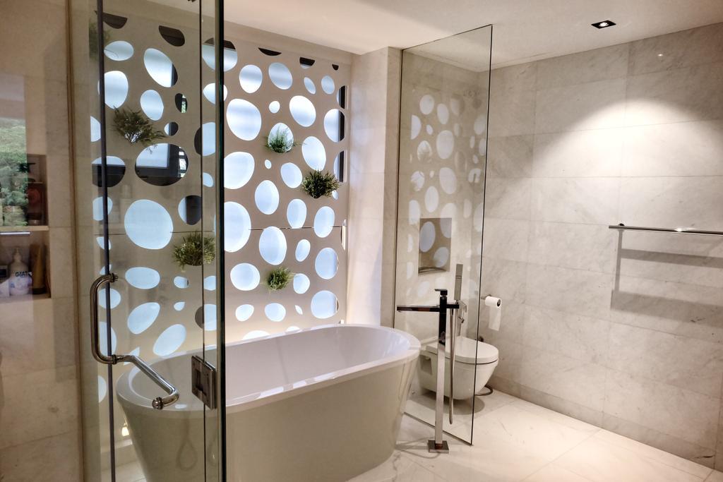 Modern, Condo, Bathroom, YGK Garden, Interior Designer, New Chapter Design.com, Freestanding Tub, Bath Tub, Bathtub