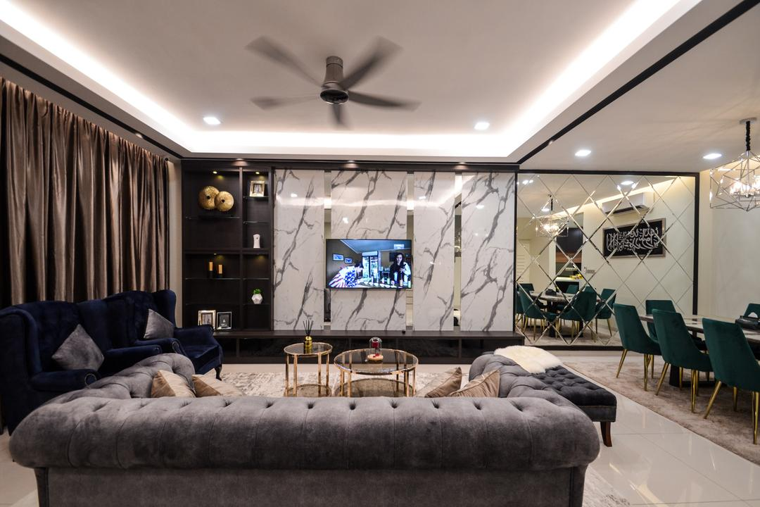 No. 54, Setia Alam by Reliable One Stop Design & Renovation