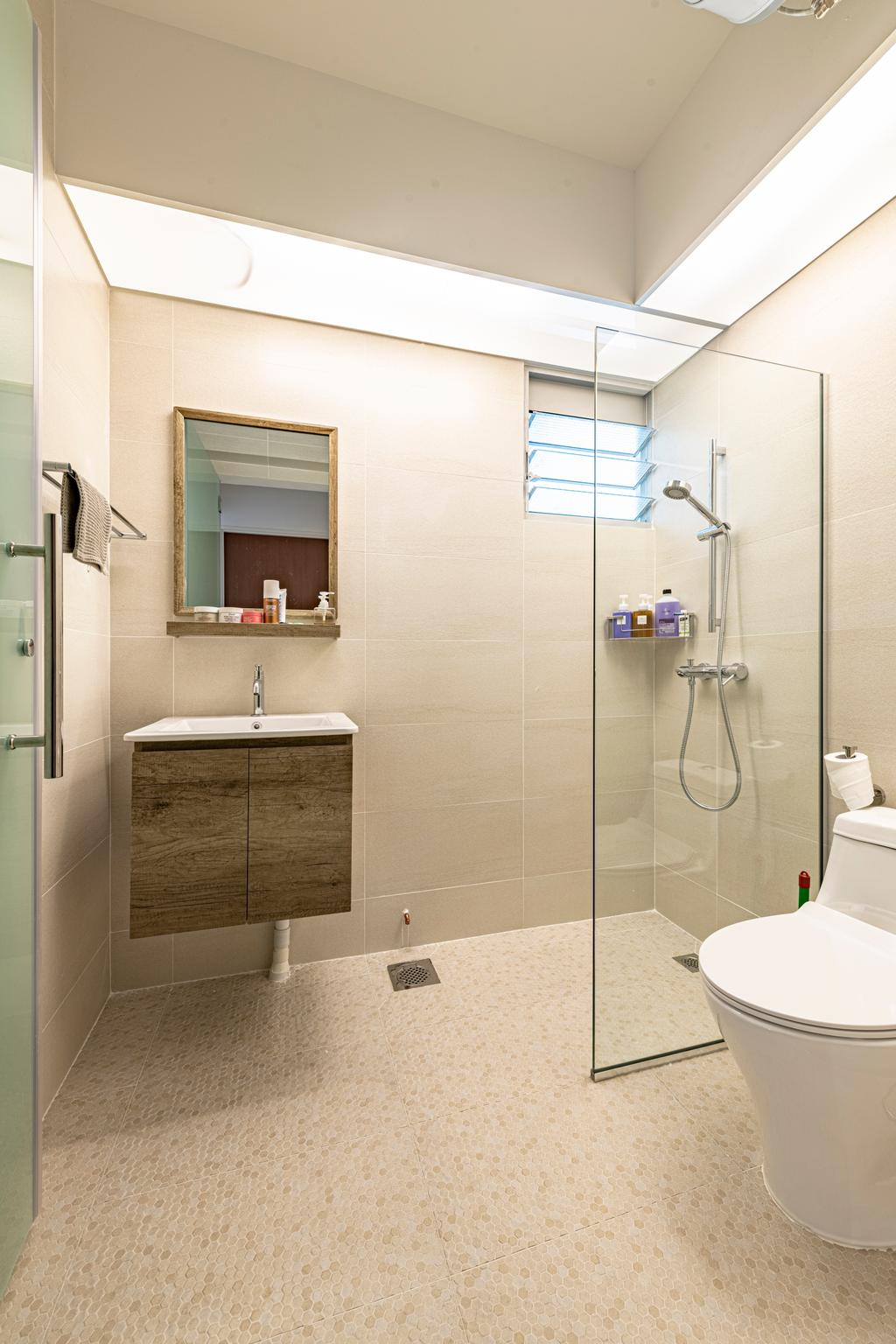 Minimalistic, HDB, Bathroom, Telok Blangah Street 31, Interior Designer, Renologist