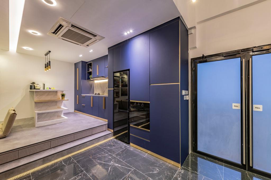 Showroom, Commercial, Interior Designer, Renologist, Transitional