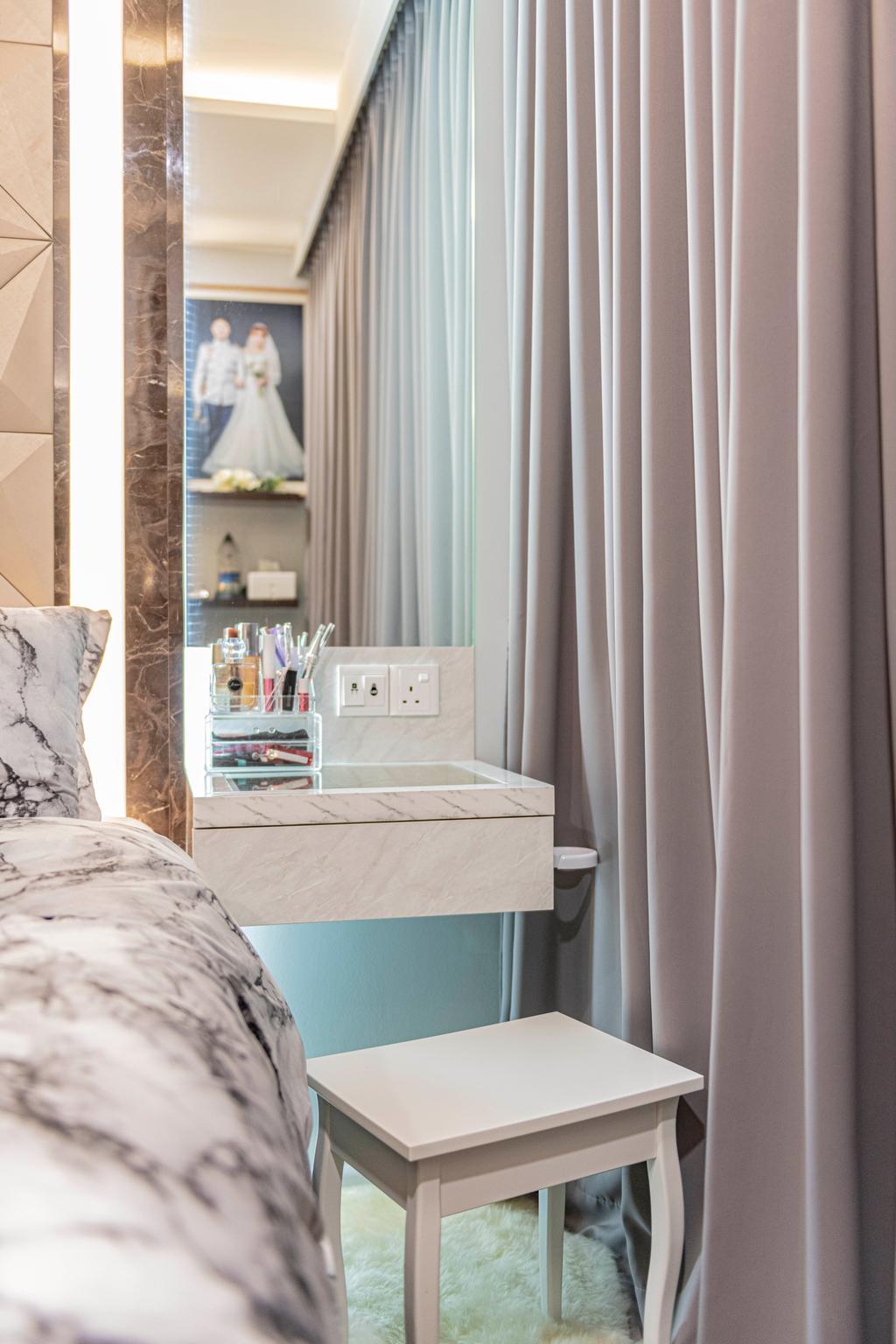 Modern, Condo, Bedroom, The Visionaire, Interior Designer, New Chapter Design.com