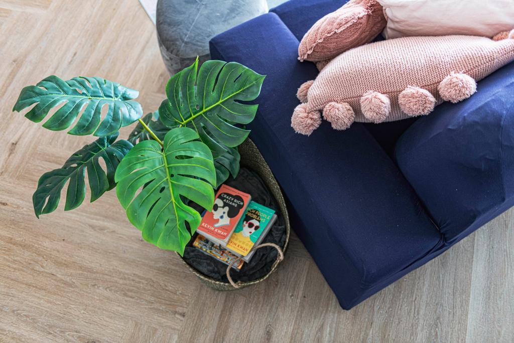 Eclectic, HDB, Living Room, SkyPeak @Bukit Batok, Interior Designer, New Chapter Design.com