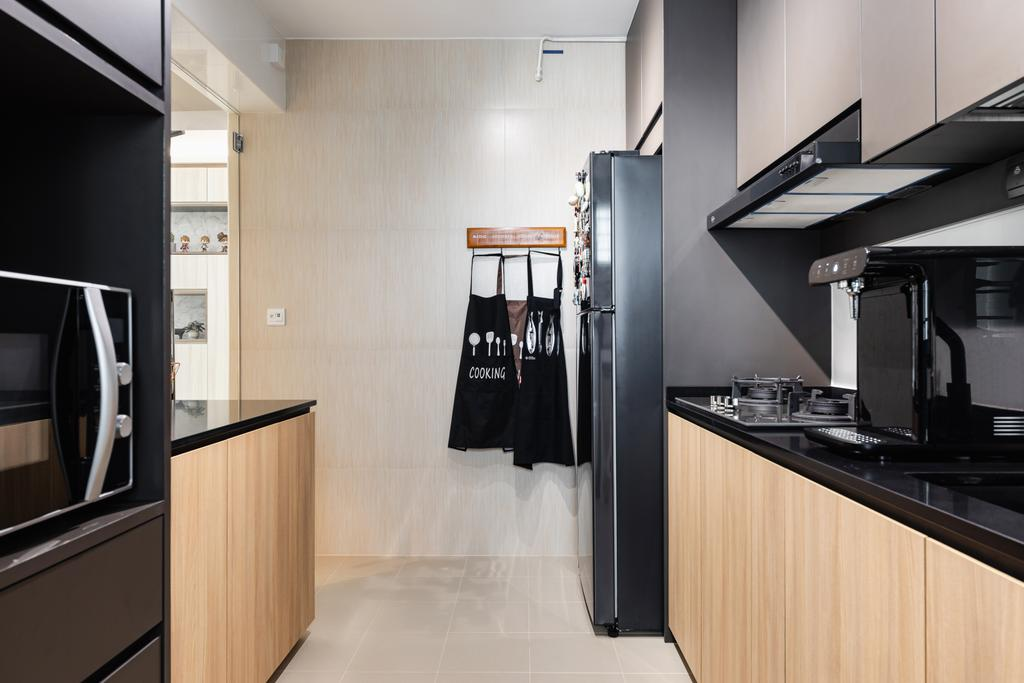Scandinavian, HDB, Kitchen, Yishun Avenue 6, Interior Designer, The Makers Design Studio
