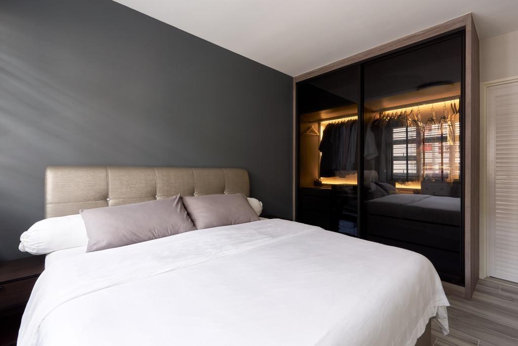 Contemporary, HDB, Bedroom, Bukit Batok West Avenue 8, Interior Designer, Swiss Interior Design