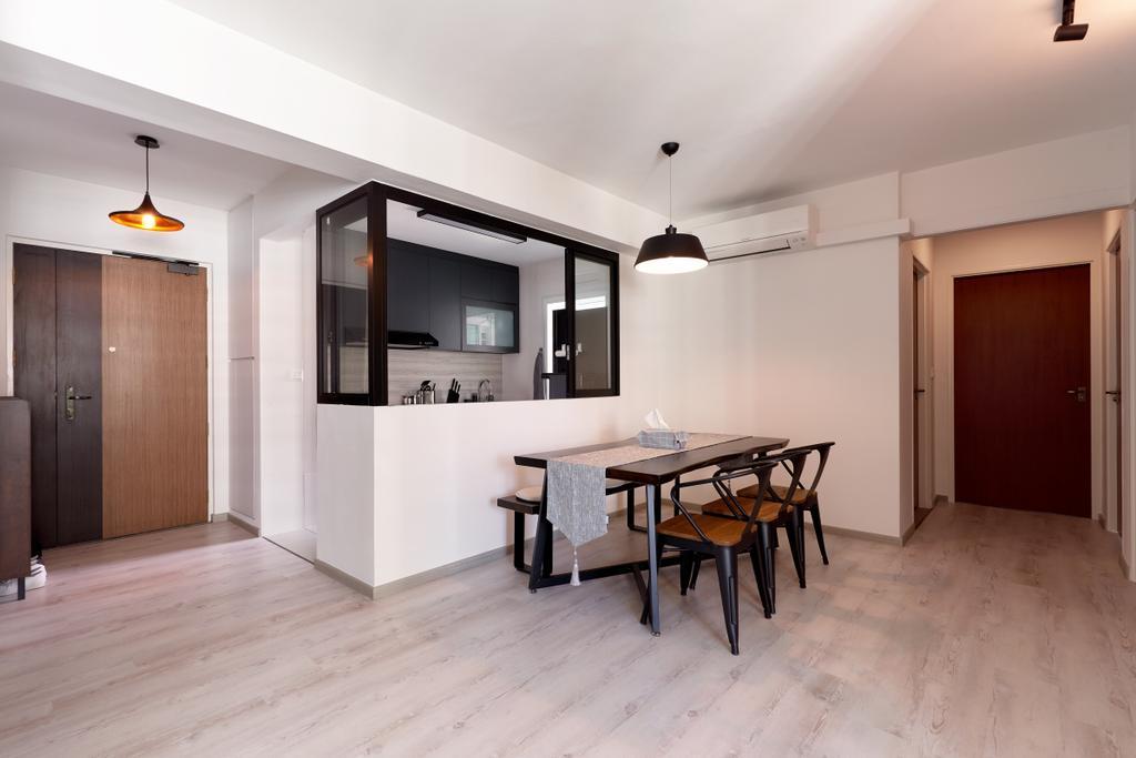 Contemporary, HDB, Dining Room, McNair Road, Interior Designer, Swiss Interior Design, Modern