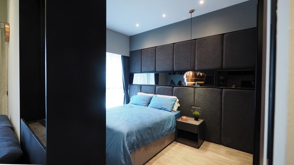 Contemporary, Condo, Bedroom, Archipalego, Interior Designer, D'Brain Studio