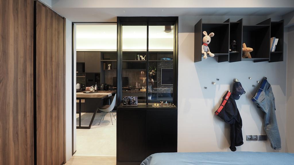 Contemporary, Condo, Living Room, Archipalego, Interior Designer, D'Brain Studio