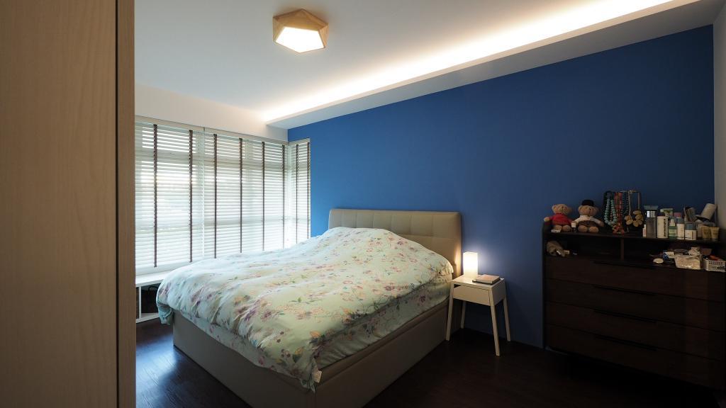 Contemporary, HDB, Bedroom, Kallang, Interior Designer, D'Brain Studio