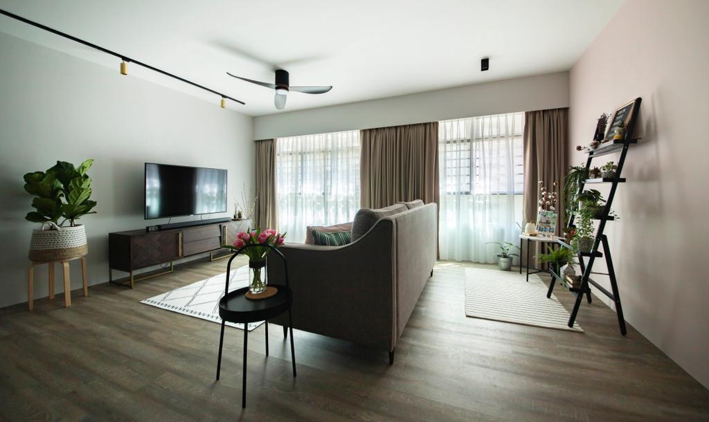 Contemporary, HDB, Living Room, Bukit Batok West Avenue 6, Interior Designer, KDOT