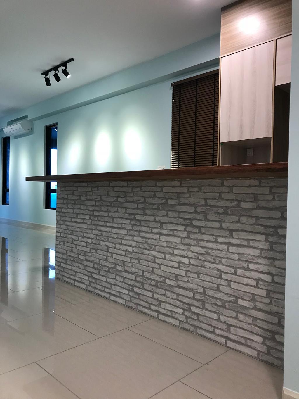Scandinavian, Condo, The Reach Residence, Titiwangsa, Interior Designer, Lebeau Interior