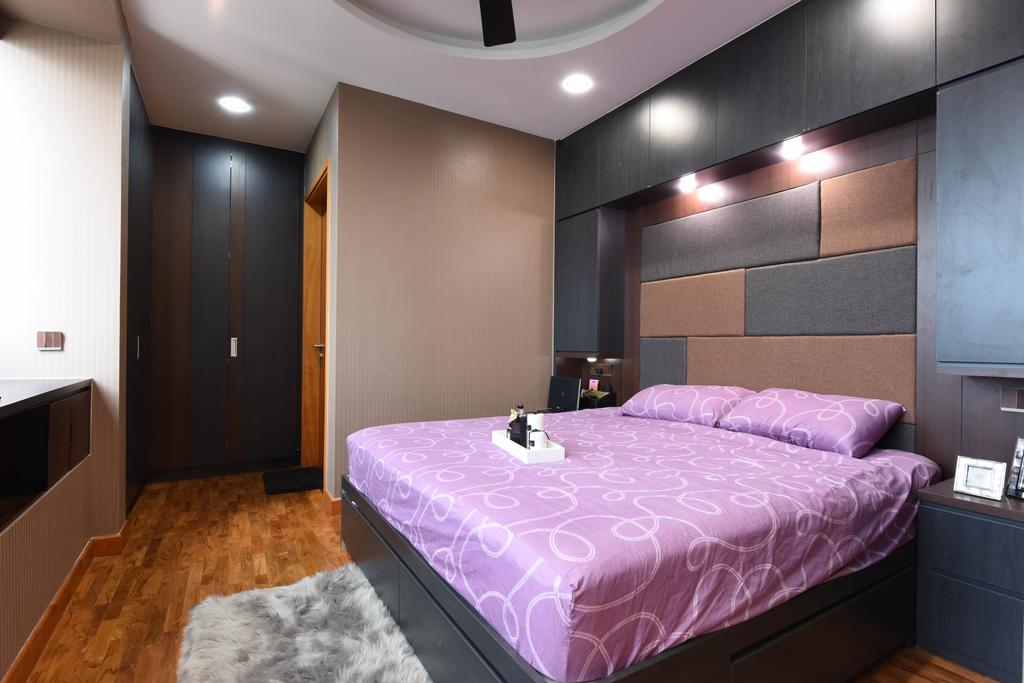 Modern, Condo, Bedroom, Centro Residences, Interior Designer, Starry Homestead