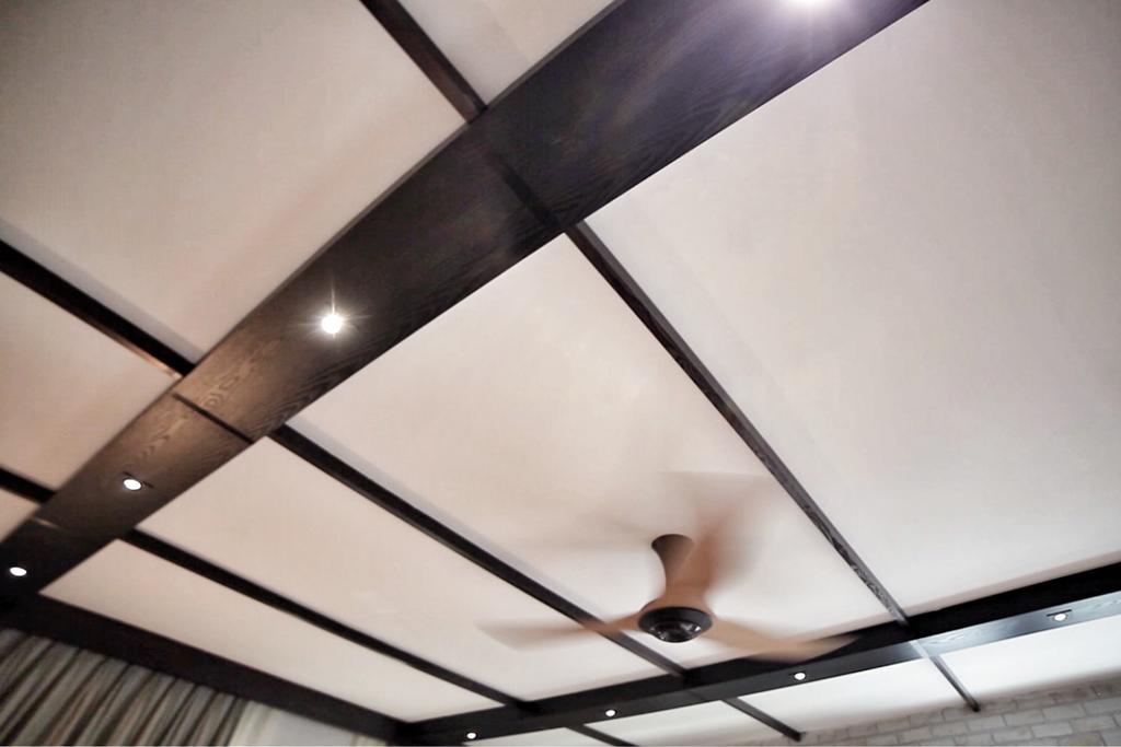 Eclectic, Condo, Living Room, Sandy Palm, Interior Designer, New Chapter Design.com