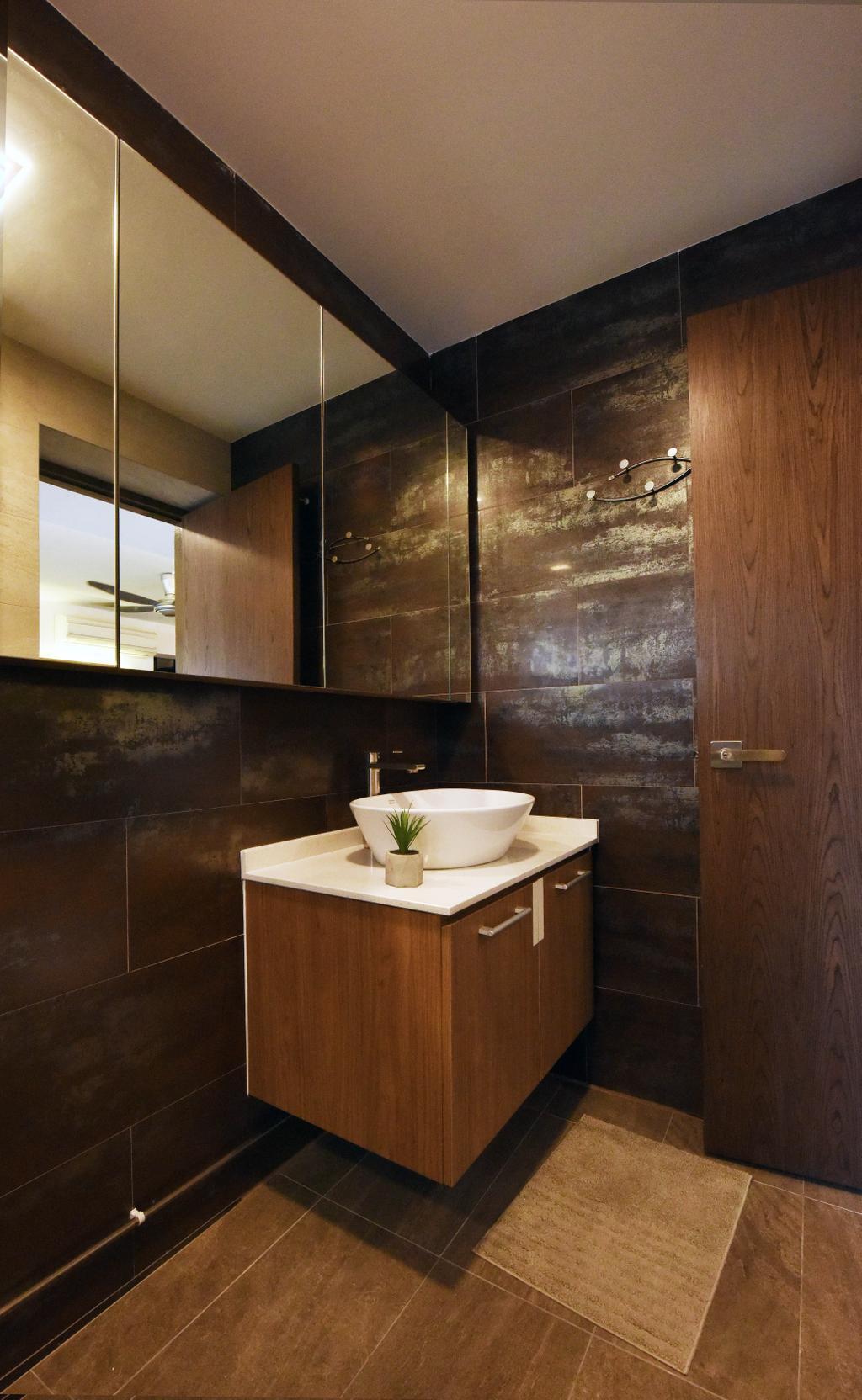 Contemporary, HDB, Bathroom, Elias Road, Interior Designer, Starry Homestead