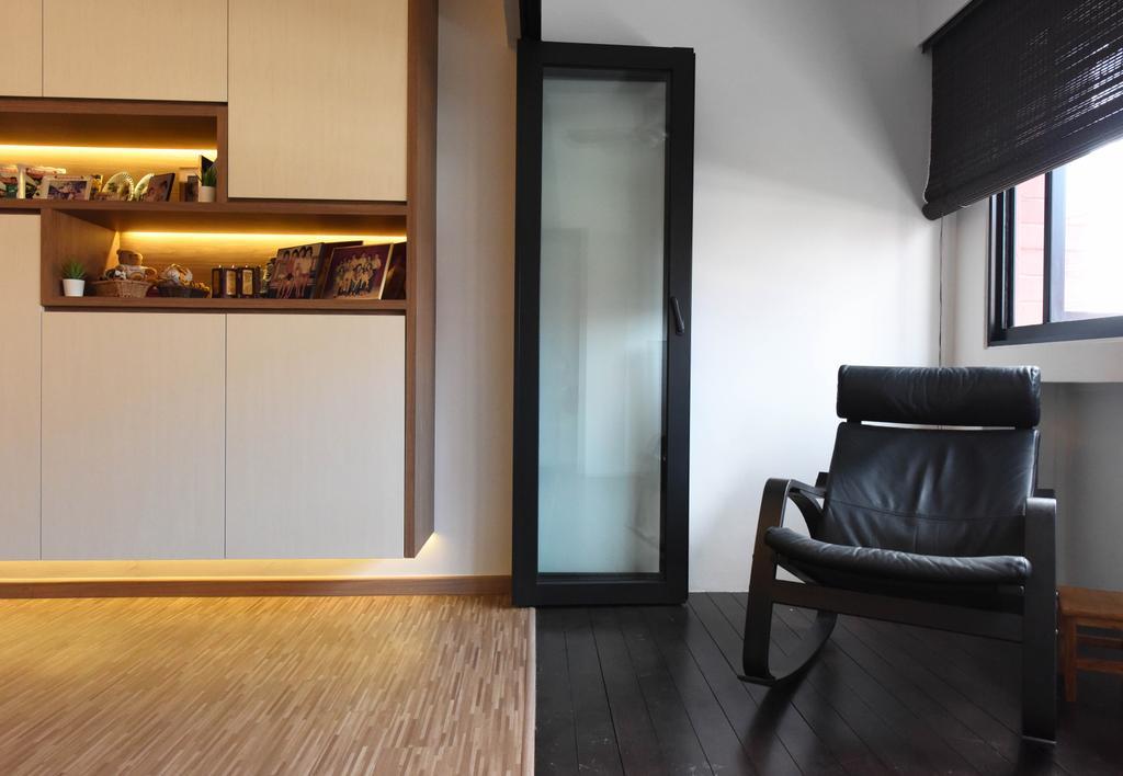 Contemporary, HDB, Balcony, Elias Road, Interior Designer, Starry Homestead