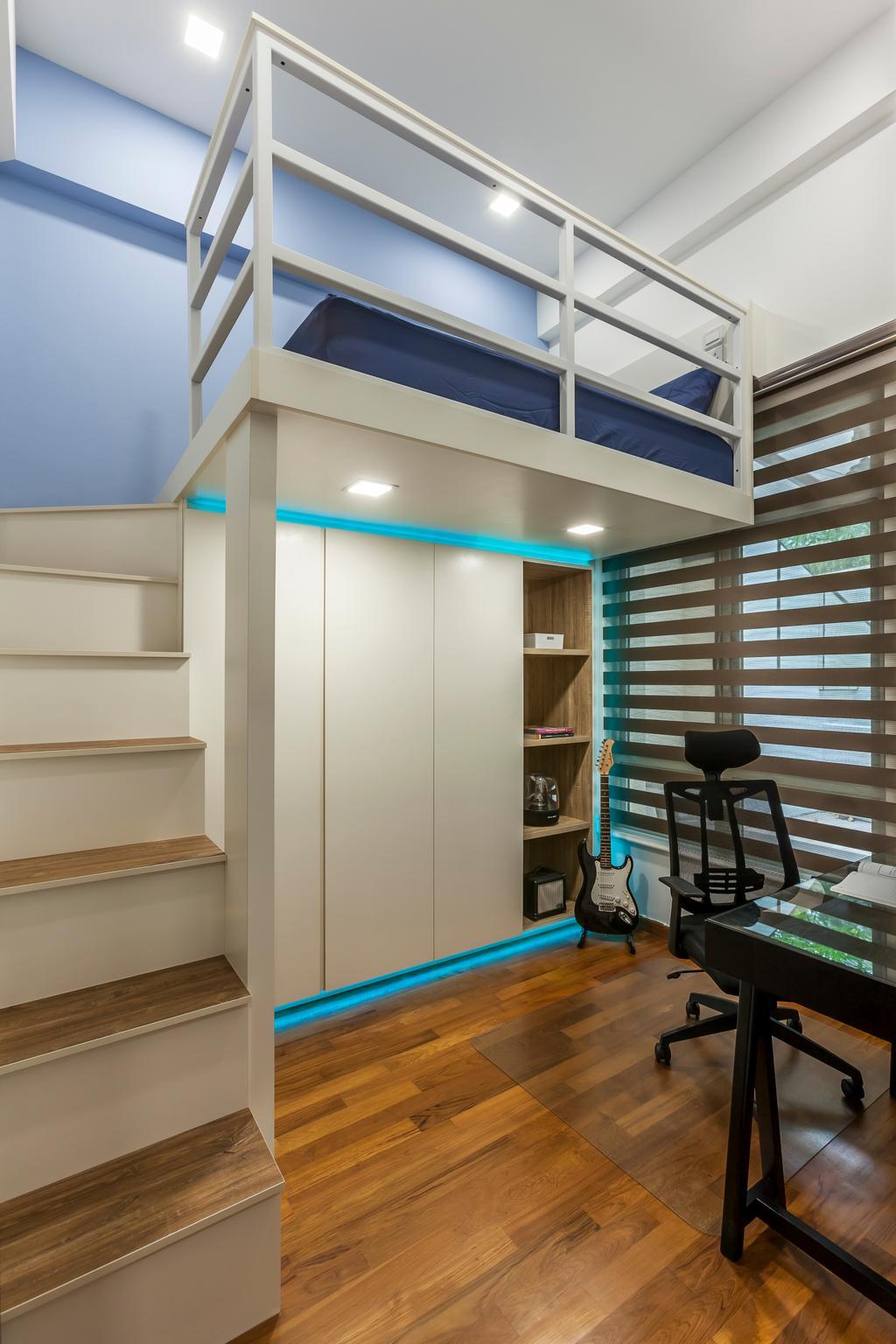 Contemporary, Condo, Bedroom, Sunshine Grove, Interior Designer, Ovon Design, Transitional