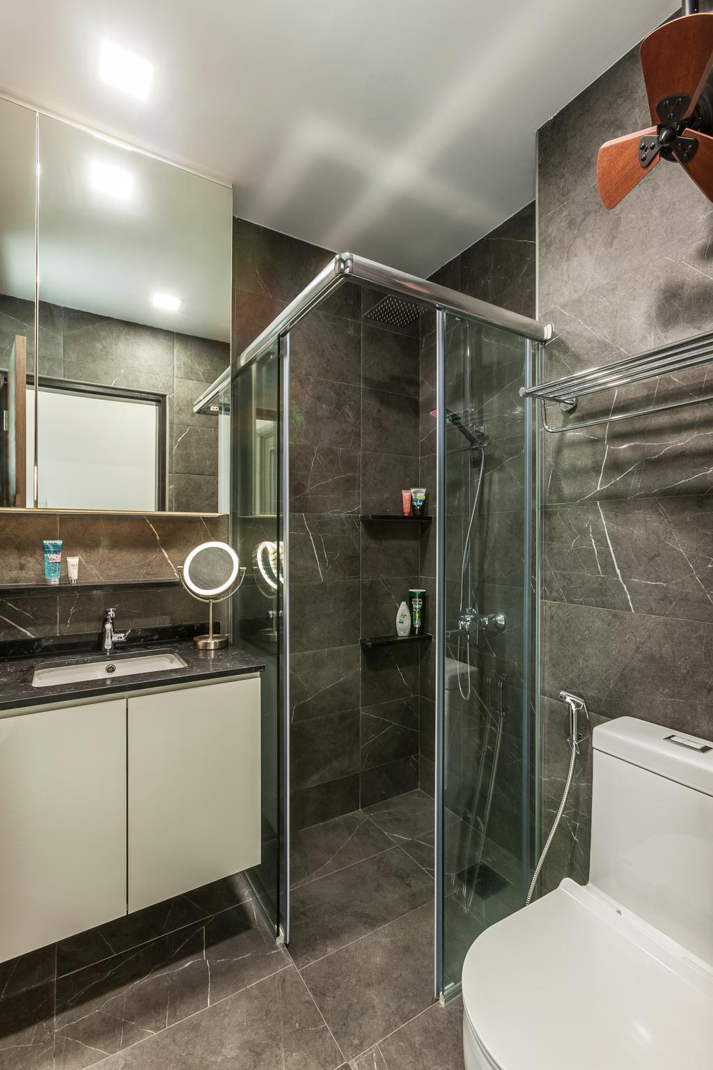 Contemporary, Condo, Bathroom, Sunshine Grove, Interior Designer, Ovon Design, Transitional