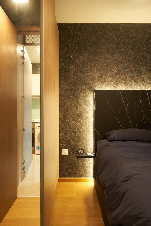 Contemporary, Condo, Bedroom, Kingsford Waterbay, Interior Designer, Ovon Design