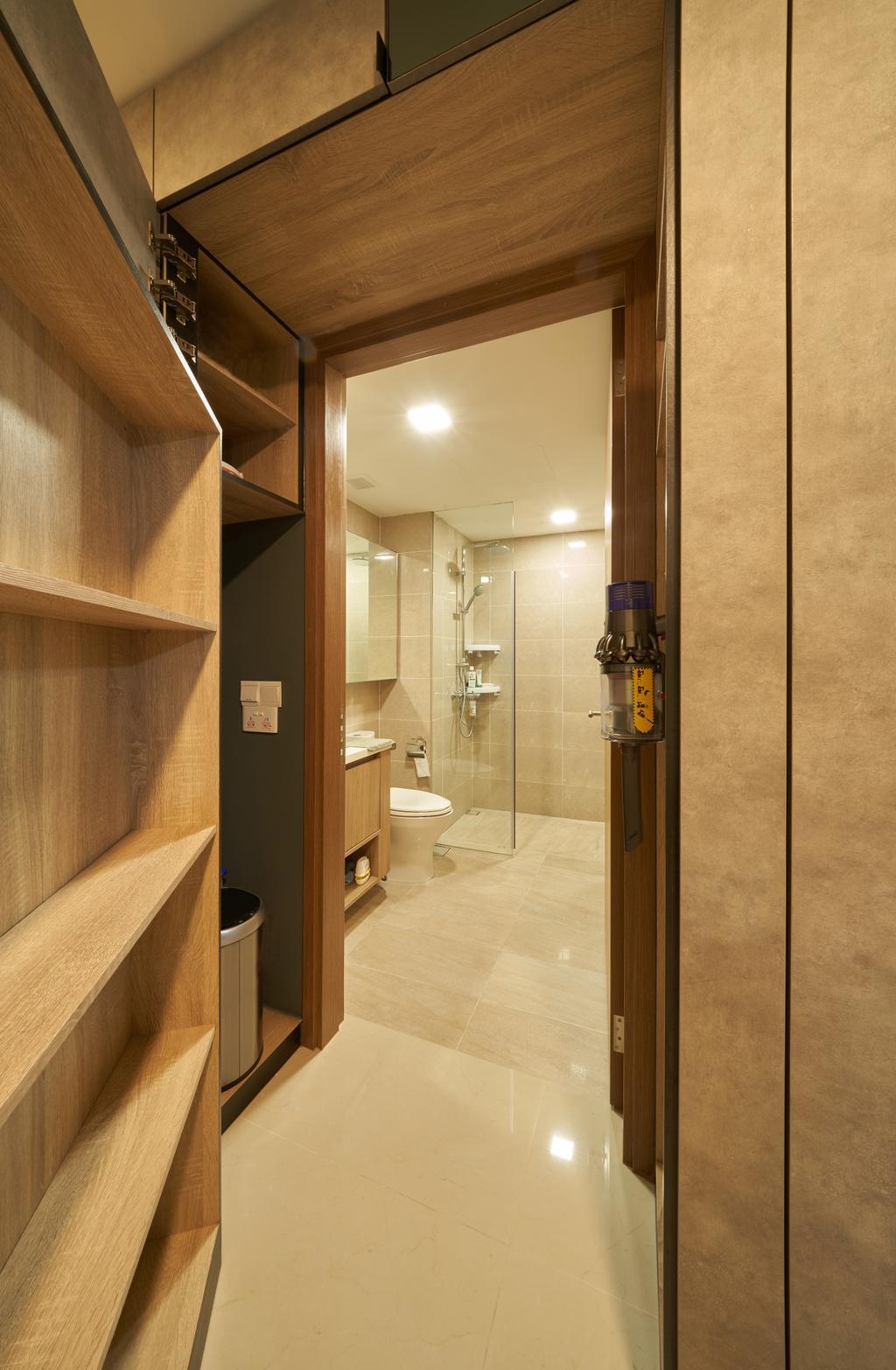 Contemporary, Condo, Bathroom, Kingsford Waterbay, Interior Designer, Ovon Design