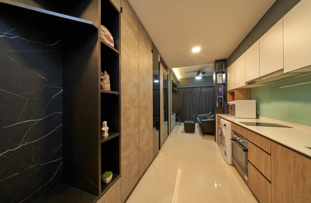 Contemporary, Condo, Kitchen, Kingsford Waterbay, Interior Designer, Ovon Design