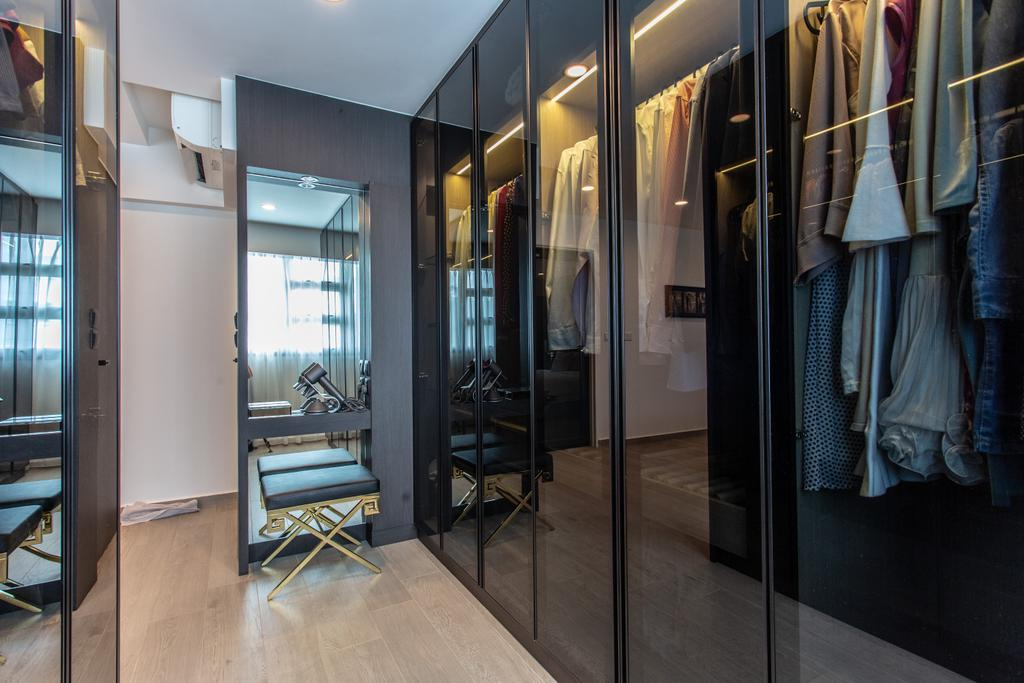 Contemporary, HDB, Telok Blangah Street 31, Interior Designer, Ovon Design