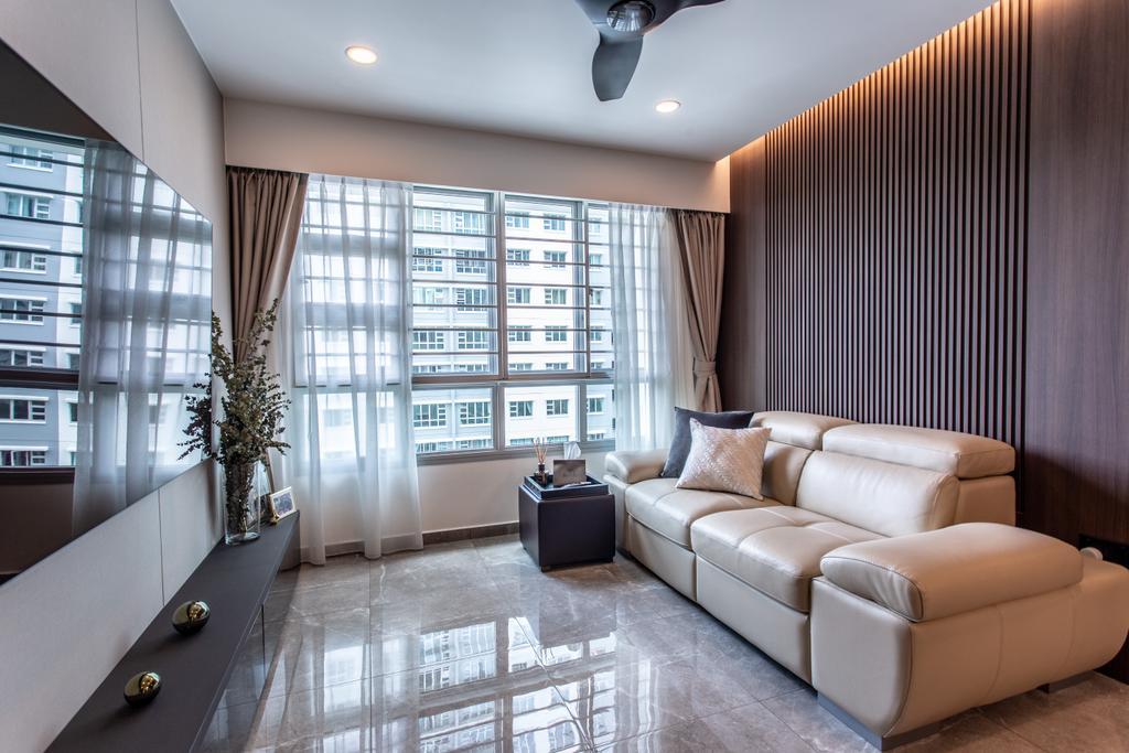 Contemporary, HDB, Living Room, Telok Blangah Street 31, Interior Designer, Ovon Design