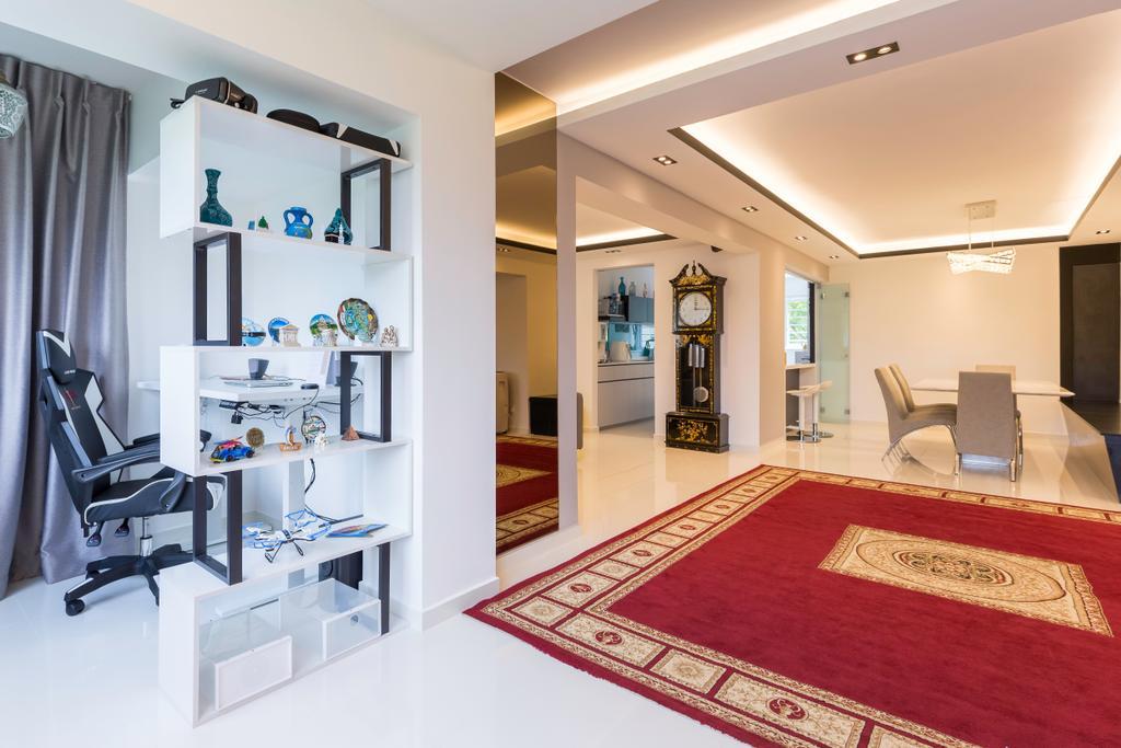 Contemporary, HDB, Study, Tampines Street 42, Interior Designer, Des & Co Interior