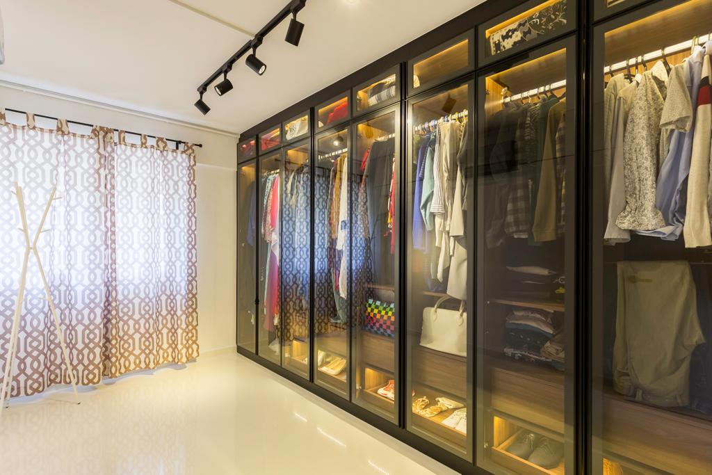 Contemporary, HDB, Tampines Street 42, Interior Designer, Des & Co Interior