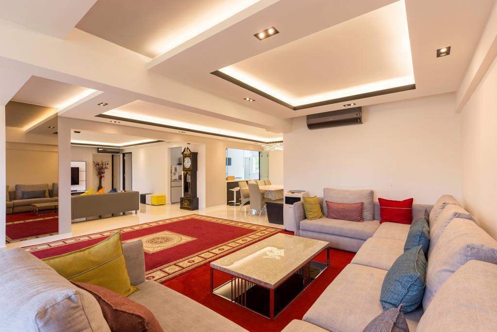 Contemporary, HDB, Living Room, Tampines Street 42, Interior Designer, Des & Co Interior