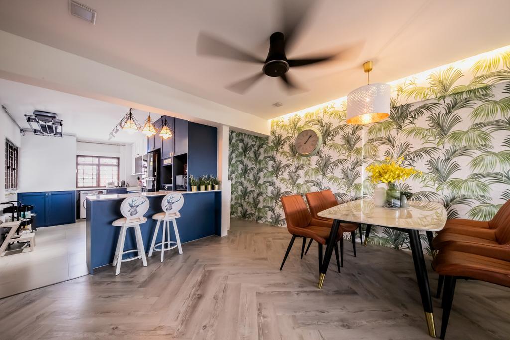 Contemporary, HDB, Kitchen, Potong Pasir, Interior Designer, Space Atelier
