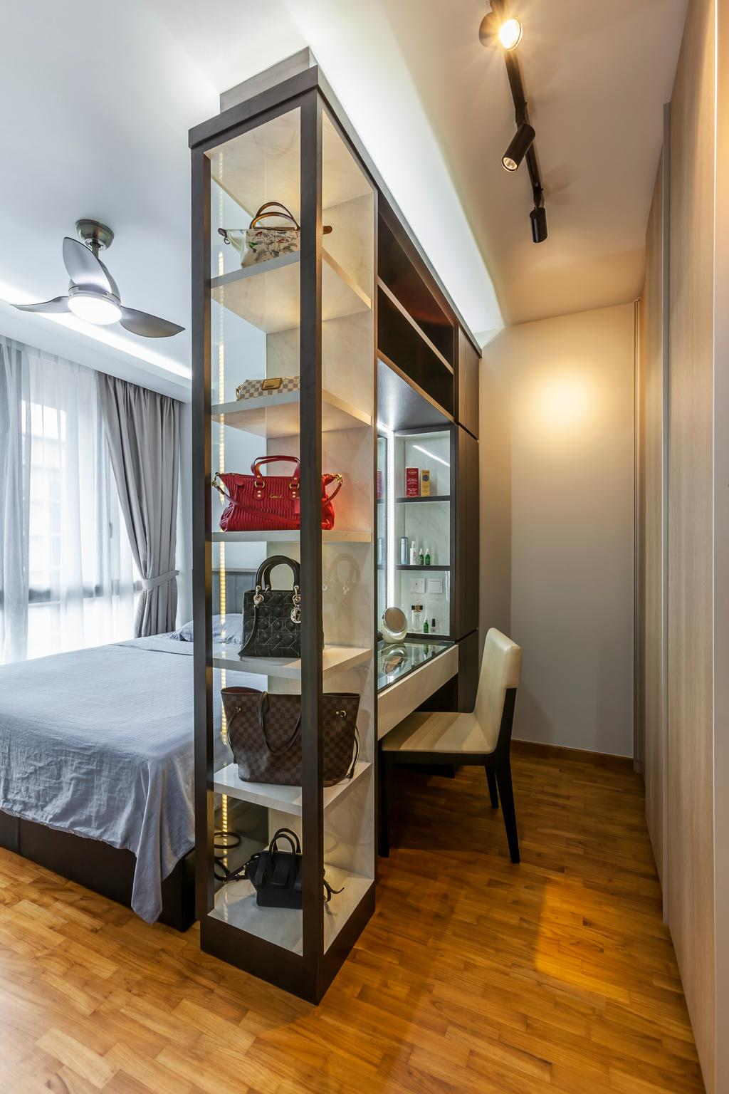 Contemporary, Condo, Bedroom, Treasure Crest, Interior Designer, Ovon Design