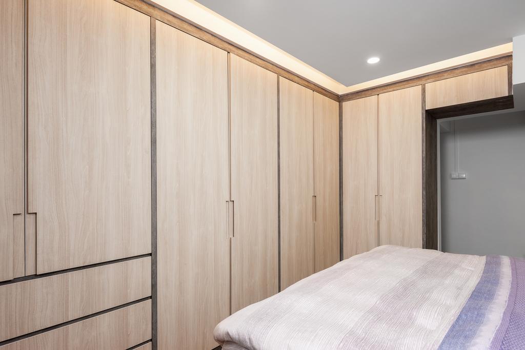 Contemporary, HDB, Bedroom, Bishan Street 22, Interior Designer, Ovon Design, Modern