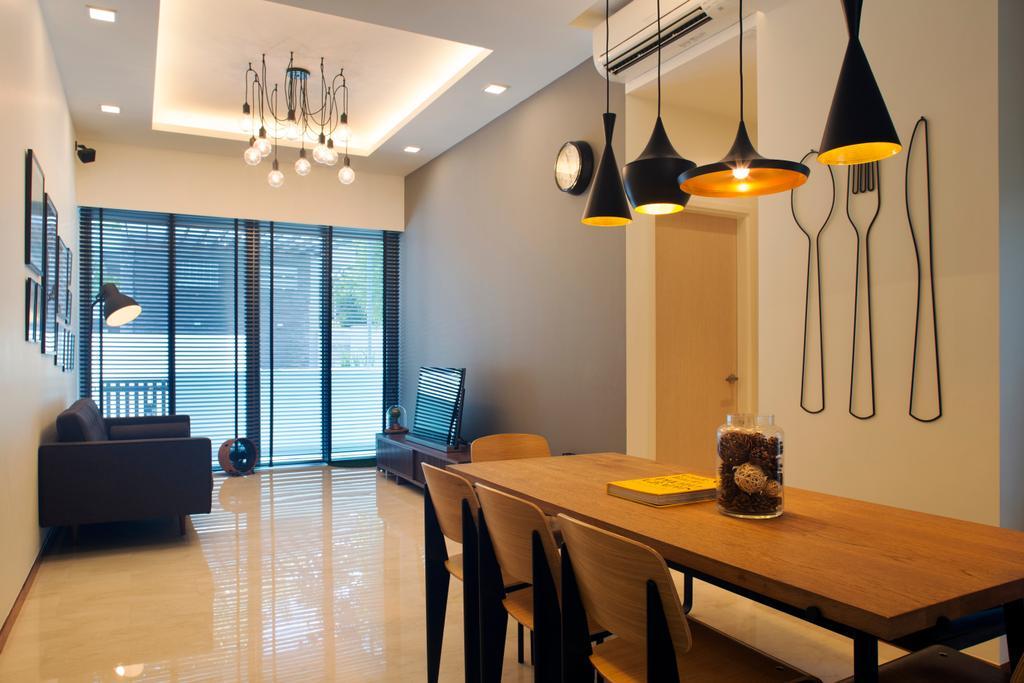 Contemporary, Condo, Dining Room, East Coast, Interior Designer, Pavilon BC