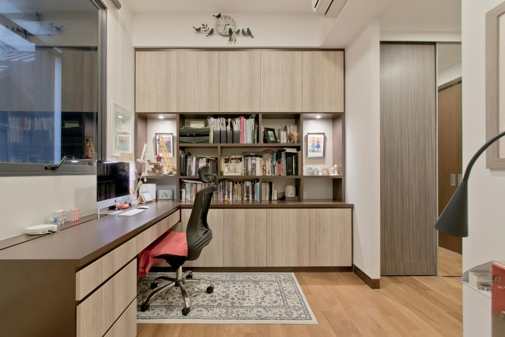 Contemporary, Landed, Study, Kovan, Interior Designer, Pavilon BC