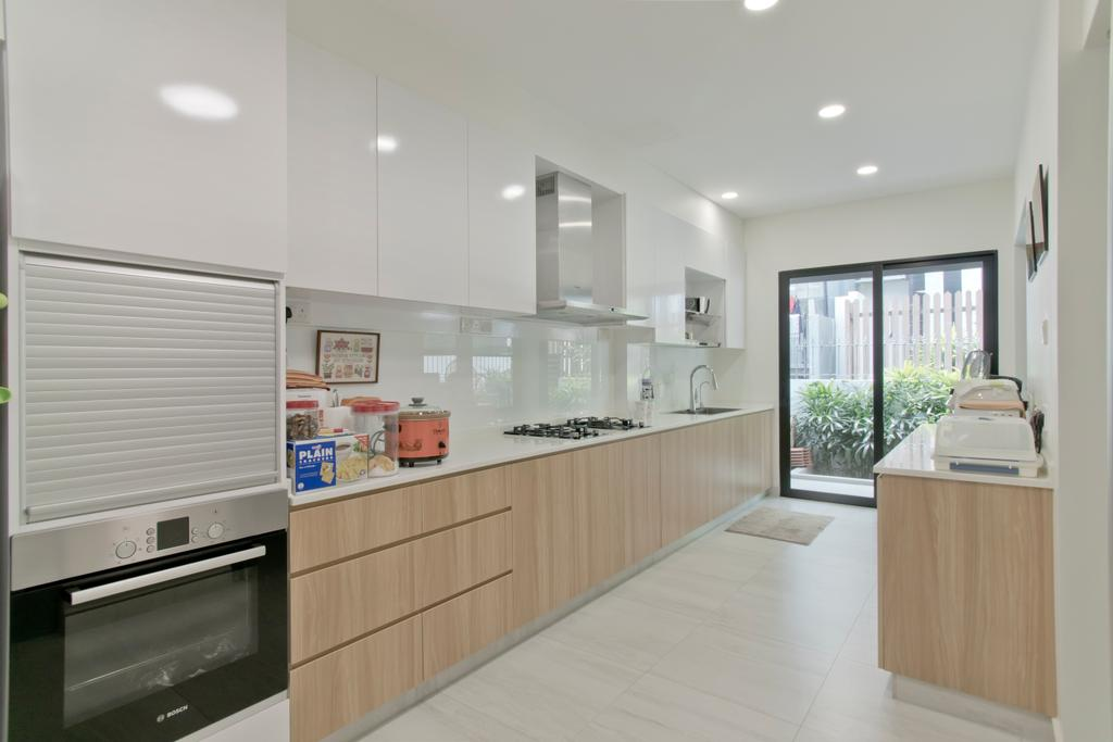 Contemporary, Landed, Kitchen, Bukit Timah, Interior Designer, Pavilon BC