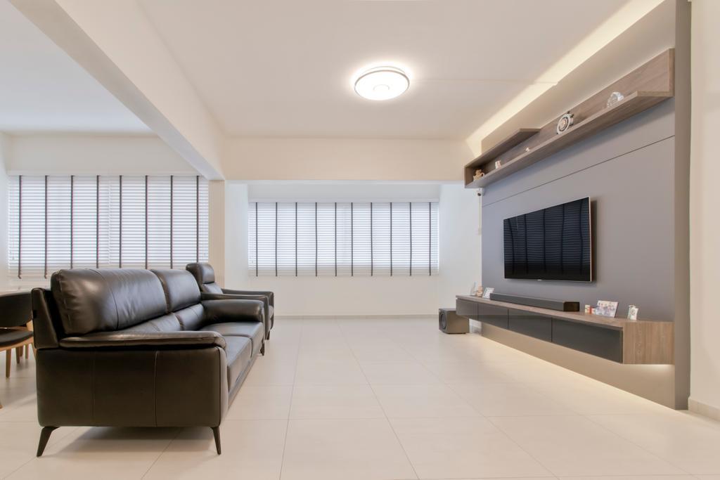 Scandinavian, HDB, Living Room, Yishun Ring Road, Interior Designer, Pavilon BC