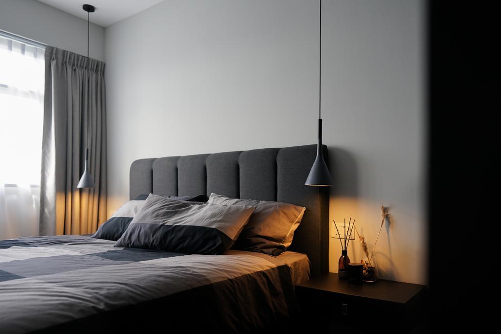 Contemporary, HDB, Bedroom, Yishun Street 43, Interior Designer, Authors • Interior & Styling