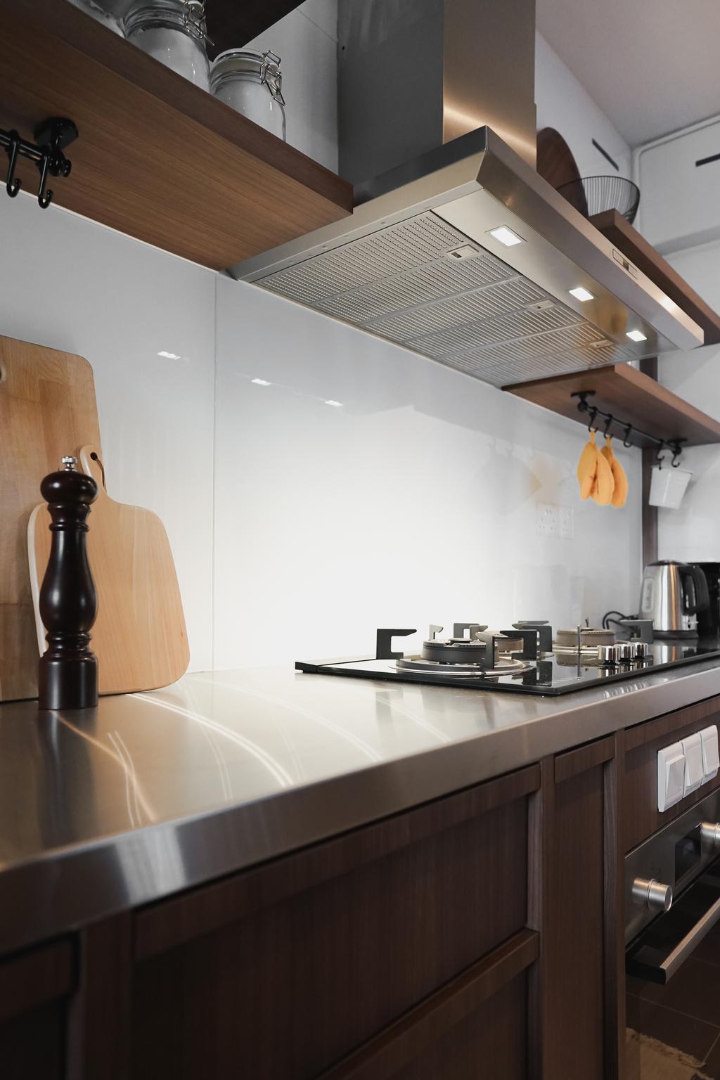 Contemporary, HDB, Kitchen, St. George's Lane, Interior Designer, Authors • Interior & Styling, Modern